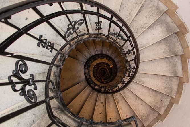 Spiral Stairs; Staircase, Circular Economy