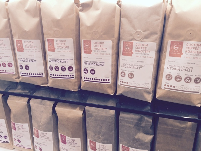 Coffee; Custom Coffee Roastery; espresso roast; medium roast; b corporation coffee; social enterprise coffee; coffee with a social impact